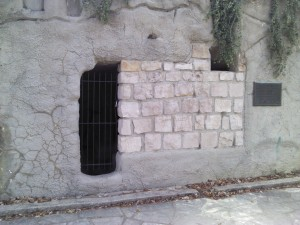 A replica of the Garden Tomb (Jerusalem) at The Garden of Hope in Covington, KY.