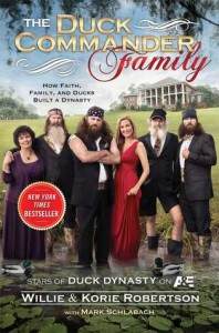 Willie and Korie Robertson's entertaining book. (Cover image from Goodreads.com)