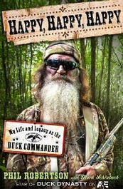 Phil Robertson's enjoyable book. (Image from Goodreads.com)