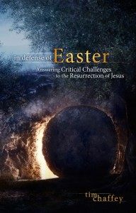 Tim's latest book is a practical apologetic on the Resurrection of Jesus. See www.midwestapologetics.org/shop for more details.