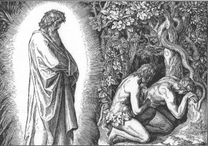 The only possible biblical reference to walking in the Garden of Eden is found after Adam and Eve sinned.