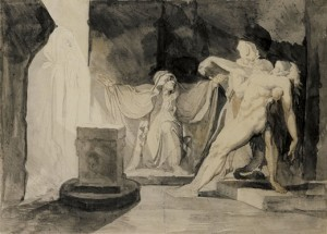 The Witch of En Dor by William Blake
