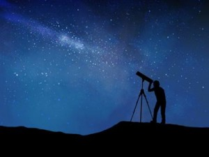 As telescopes make objects appear closer to the viewer, historians often gloss over or compress details so they can focus on their main point. (Image from beliefnet)