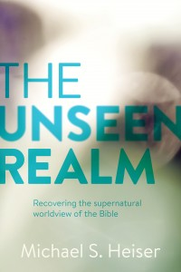 Cover image of Michael Heiser's new book, The Unseen Realm.