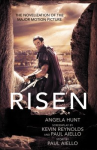 Cover image of the novel by Angela Hunt based on the Risen film. I can't wait for this movie.