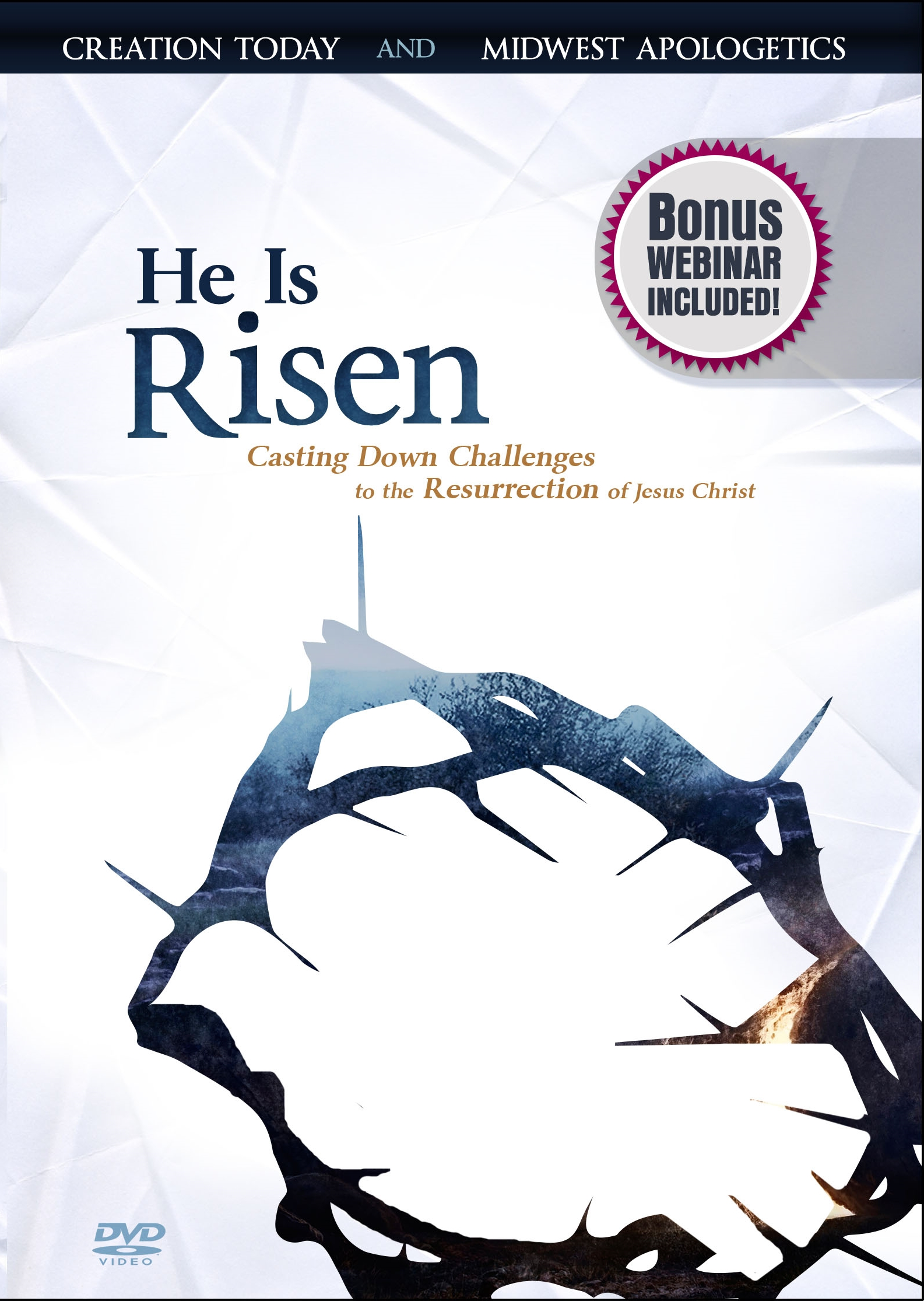 He Is Risen DVD front cover